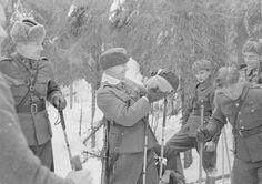 1940. Finnish Soldier In Soviet Finnish War