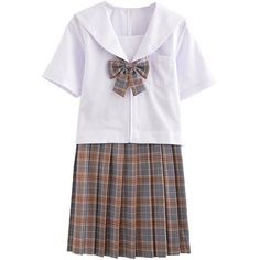 Amazon.com: Partiss Women's Japan School Uniform Sailor Dress Cosplay... (373.025 IDR) ❤ liked on Polyvore featuring costumes, lady costumes, ladies costumes, womens sailor costume, womens cosplay costumes and womens sailor halloween costume