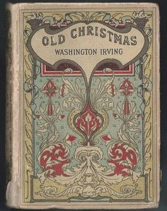 Charles Pears Old Christmas Washington Irving Art Nouveau Collins Antique Book