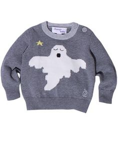 'Happy' The Ghost Halloween Sweater