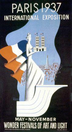 France. Paris Exposition 1937