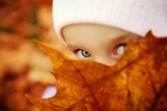 Fall pictures~Setting, lighting, love the eyes. To me, eyes are one of the most important things to capture in portrait photography.