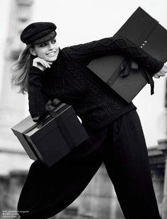 Karlina Caune by David Bellemere for Vogue Paris September 2013
