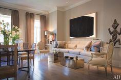Sandra Nunnerley wohnzimmer neutrale  farben couchtische kuben