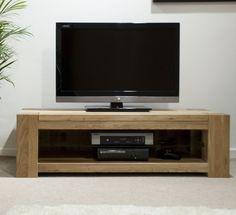 Padova solid oak furniture plasma television cabinet stand unit  | eBay