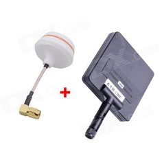 5.8G 11dBi 200mW Panel Antenna w/ 5.8G Right Angle TX-SMA Female Antenna Gains for FPV. Panel Antenna: Frequency: 5600~5900MHz; Gain: 11dBi; Standing wave ratio: <2.0; Input impedance: 50 ohm; Polarize way: Vertical; Max. Power: 50W; Connector: RP-SMA; 5.8G Right Angle SMA Female Antenna?? A brand new design, 5.8 G Antenna gains for FPV aerial photo. All the products have a strict test, the standing-wave ratio is lower than 1.5. This is exactly the first choice for FPV, and it can…