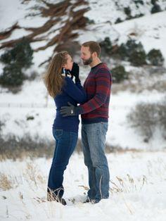 Red Rocks Morrison Colorado Proposal Engagement Photos Girls Reaction
