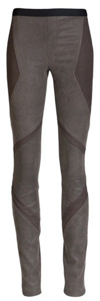 Embossed Leather Legging