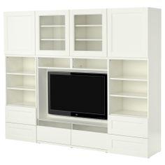BESTÅ Ansamblu depozitare/TV - IKEA