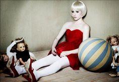 living doll fashion photography (Avril Lavigne)