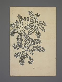 Paper Stencils, Dorothy Marshall Hornblower, early 1900s