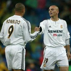 Ronaldo & Cambiasso  #Legends #RealMadrid  #Ronaldo #R9 #Ronaldolima #Cambiasso #Fenomeno #Legend #Football #Brazil #Eterno #Prasemprefenomeno by ronaldoelfenomeno
