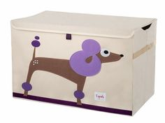Poodle Toy Chest | The Organizing Store #toychest #3sprouts #organize #toys