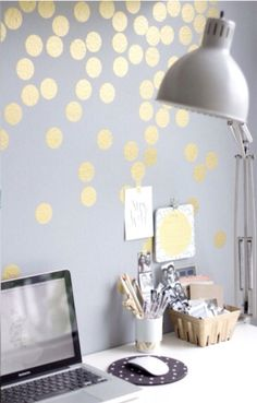 Dots on the wall