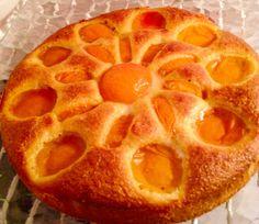 Gâteau soleil sans gluten, sans lactose et sans sucre raffiné
