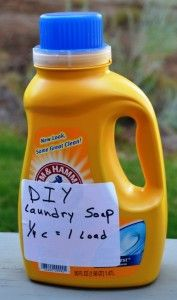 DIY soap: This batch of laundry soap for a front loader washing machine is very efficient and costs pennies to make. (Pantenburg photos)