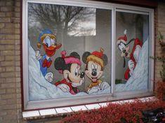 several window paintings