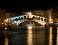 Venice - Rialto Bridge by night