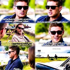 Supernatural Scene // Season 10