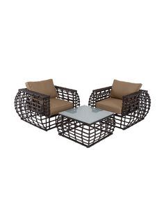 Table and Chair Set (3 PC) by UMA at Gilt