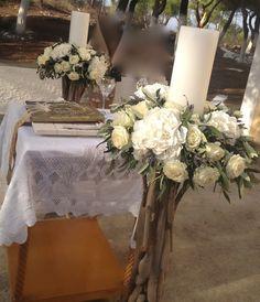Greek Wedding, Invitations, Table Decorations, Weddings, Home Decor, Flower Arrangements, Grecian Wedding, Decoration Home, Room Decor
