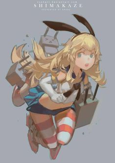 Shimakaze (Kantai Collection)Krenz Cushart