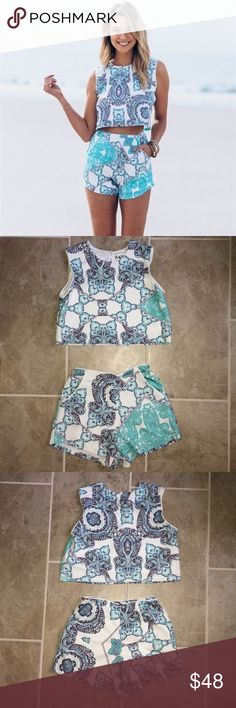Sabo Skirt Co-ord Set The cutest little co-ord set! Perfect for summer date nights! Worn only once!! Sabo Skirt Other