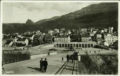 Nordland fylke Narvik. Næroversikt fra byen. Utg Julius Brekke Ubrukt 1920