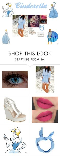 """""""Disney: Modern Cinderella"""" by glee2shake ❤ liked on Polyvore featuring Disney, Lola Cruz, Boohoo, Marc by Marc Jacobs and modern"""