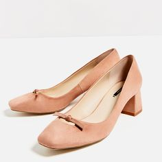 HIGH HEEL SHOES WITH BOW DETAIL-View all-SHOES-WOMAN   ZARA United States