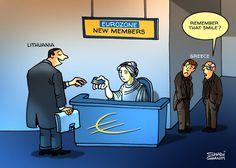 كاريكاتير ذا ناشيونال (الإمارات)  يوم الإثنين 5 يناير 2015  ComicArabia.com  #كاريكاتير