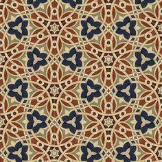 Encaustic tile from Patterson Collection Filmore Clark