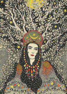 "Daria Hlazatova - ""Cassandra's Evening"""