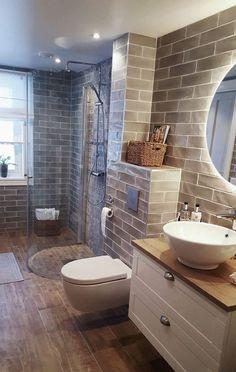 60 Comfortable Interior That Make Your Home Look Fabulous #bathroom #smallbathroom #bathroomsremodel #bathroomdesign