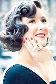 finger wave bridal hairstyles - Google Search