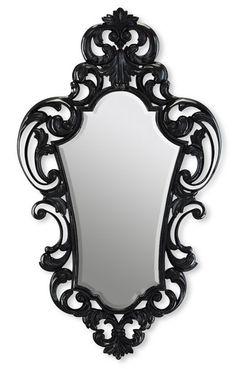 45 Cheap Dark Victorian Mirror Designs Ideas For Classic Home Gothic Mirror, Victorian Mirror, Black Mirror, Mirror Mirror, Magic Mirror, Sunburst Mirror, Wall Mirrors, Beautiful Mirrors, Rococo Style
