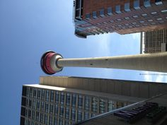 Calgary, Scott and I had drinks on top if this and watched the opening ceremonies of the 1992 summer Olympics