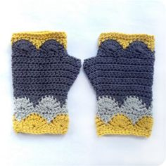 The Libertas Mitts are a fun and easy way to play with colour in your crochet. They only use a small amount of yarn, so they're the perfect stash busting project. And they work up quickly, making them great for a last minute gift. A confident beginner could make these too! This pattern is available