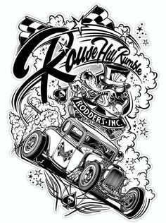 """Rodders Inc."" - AUS on Behance"