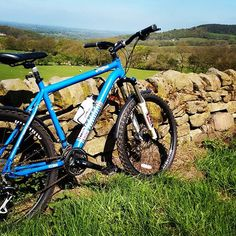Out and about on the new #mtb around #thecloud #staffordshire #congleton #cheshire #bankholiday