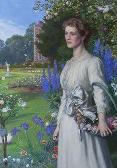 Arthur Hughes - Margaret Lushington (d.1906), Mrs Stephen Langton Massingberd
