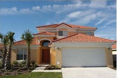 Orlando Vacation Rental - VRBO 11756 - 4 BR Central-Disney-Orlando Area House in FL, Beautiful 7 BR Pool Home with a Waterslide for 6 - 16 G...