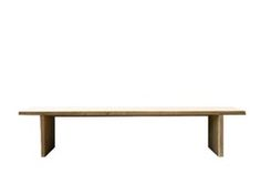 Bench Without Back  Art Deco, MidCentury Modern, Modern, Scandinavian Modern, Neoclassical, Wood, Bench by Design Collectif