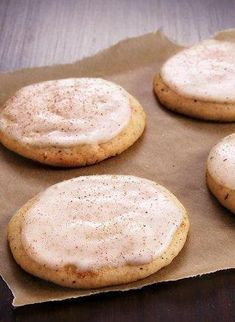 Chai Tea Eggnog Cookies #MakeMerry