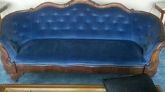 Beautiful Victorian Style Sofa Totally Reupholstered