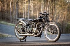 Maggie the Abandoned Beasty: A 1949 Vincent Black Shadow - Classic British Motorcycles - Motorcycle Classics