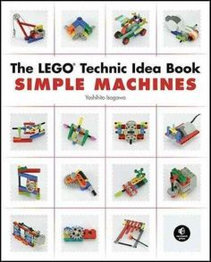 The LEGO Technic Idea Book: Simple Machines is a collection of hundreds of working examples of simple yet fascinating Technic models that you can build based on their pictures alone. Each project uses