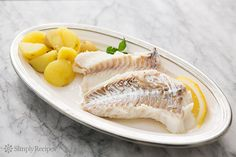 Cod Poached in Court Bouillon on Simply Recipes