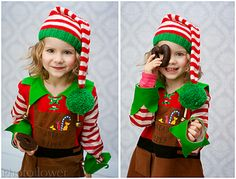 Not only Christmas Hat is a very simple hat with a long tail and big pompom.