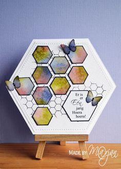 Hexagon card